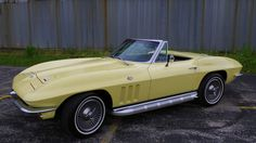 1966 Chevrolet Corvette - 1 Maintenance/restoration of old/vintage vehicles: the material for new cogs/casters/gears/pads could be cast polyamide which I (Cast polyamide) can produce. My contact: tatjana.alic@windowslive.com