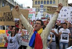 Thousands rally in Romania against gold mine