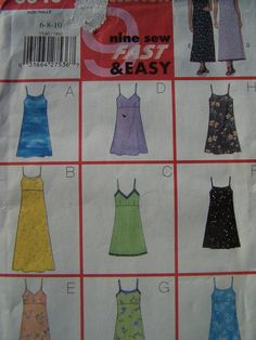 Butterick 5540 Fast & Easy Sewing Pattern by WitsEndDesign on Etsy, $8.00