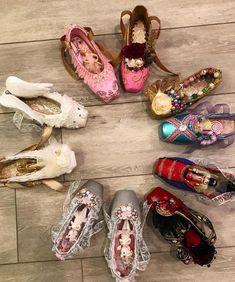 Modern-day dancewear and high-ranked leotards, swing transfer, valve and ballet trainers, hip-hop apparel, lyricaldresses. Tutu Ballet, Ballet Shoes, Dance Shoes, Ballet Dancers, Ballerina Slippers, Ballet Crafts, Shoe Crafts, Grinch Shoes, Sienna