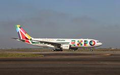 """Alitalia A330 """"Expo Milano 2015"""" livery"""