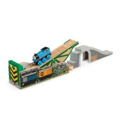 Check out the Thomas & Friends Wooden Railway Tidmouth's Tipping Bridge at the official Fisher-Price website. Explore the world of Thomas today! Train Table, Wooden Train, Thomas And Friends, Train Tracks, Designer Toys, Fisher Price, Games For Kids, Wooden Toys, Racing