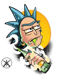 Rick and Morty - Zeichnen - Lenora Rick And Morty Drawing, Rick And Morty Tattoo, Cartoon Drawings, Cartoon Art, Art Drawings, Ricky Y Morty, Rick And Morty Poster, Rick And Morty Time, Star Citizen