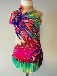Competition Rhythmic Gumnastics Leotard-SOLD by Savalia on Etsy