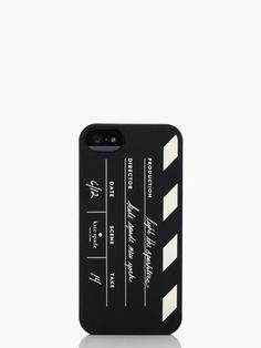 directors clapboard silicone iphone 5<-- my next iPhone case...