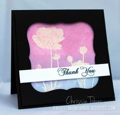 SP Stamps Blog: A Watercolor Thank You Card