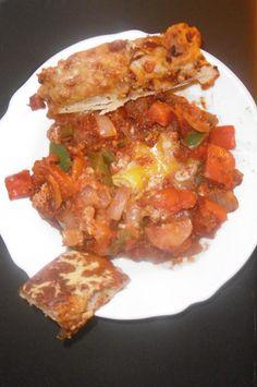 Madhouse Family Reviews: Globecooking recipe : Huevos rancheros (Mexico) Huevos Rancheros, Three Kids, Mexican Food Recipes, Mexico, Friday, Chicken, Mexican Recipes, Cubs