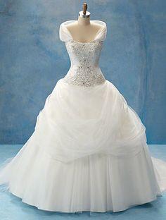 Disney inspired wedding dress - Belle !