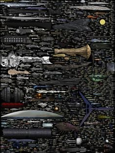 Sci-Fi Ships Updated PIC