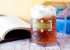 Love this one - Homemade Butterbeer! It's just like the kind at the Harry Potter theme park! #copycat #recipe