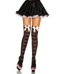 Stockings mit Knochen-Muster