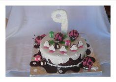 Esta fue la tarta del cumple de Maria