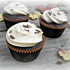 Chocolate Cupcakes with Caramel Frosting Caramel Frosting, Chocolate Frosting, Chocolate Cupcakes, Chocolate Deserts, Fudge Frosting, Chocolate Glaze, Chocolate Fudge, How To Make Frosting, Just Eat It
