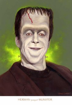 The Munsters - Herman Portrait