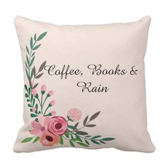 Elegant Spring Pastel Flowers Pillow - floral style flower flowers stylish diy personalize