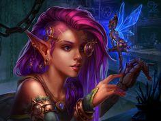 techno magic Techno, Fairies, Fantasy Art, Steampunk, Character Design, My Arts, Princess Zelda, Magic, Wallpaper