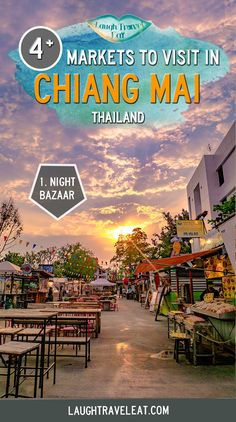 Chiang Mai is full of markets. Short of time, I visited the Night Bazaar, Warorot market, the Saturday Night Market, and Sunday Night Market. Here's what to see and how to get to these markets: ChiangMai Market Thailand 486459197248655423 Thailand Travel Guide, Visit Thailand, Asia Travel, Croatia Travel, Hawaii Travel, Italy Travel, Khao Lak, Koh Chang, Backpacking Asia