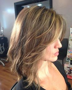 36 Of The Irresistible Medium Fine Hairstyles for Women That Will Amaze Everyone Side Bangs Hairstyles, Short Shag Hairstyles, Elegant Hairstyles, Hairstyles Haircuts, Cool Hairstyles, New Hair Do, Love Hair, Gorgeous Hair, Langer Pony