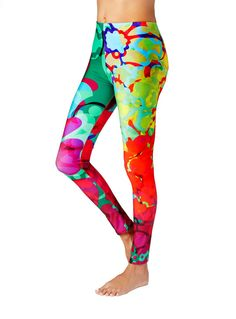 60fa16e8a90ac 55 Best Yoga Leggings by Tulipe Studio images | Print Leggings ...