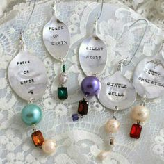 Christmas ornaments listed.