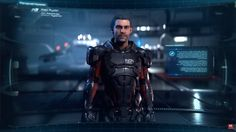 Alec Ryder, born on Earth in 2129, N7, Fought in the First Contact War, interested in AI technology