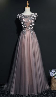 Long Prom Dresses, Tulle Prom Dresses, Sleeveless Prom #prom #promdress #dress #eveningdress #evening #fashion #love #shopping #art #dress #women #mermaid #SEXY #SexyGirl #PromDresses