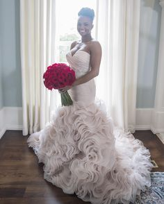 """Gorgeous bridal portrait of """"Married at First Sight"""" star Vanessa my favorite bride!!!"""
