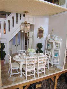 Miniature Rooms, Miniature Kitchen, Miniature Houses, Miniature Furniture, Dollhouse Furniture, Victorian Dolls, Victorian Dollhouse, Doll House Crafts, Doll Houses