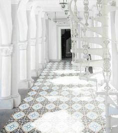 Artisan Deco Otto 200 x 200 | Tile Depot Cement Design, Tile Design, Gravel Stones, Encaustic Tile, Pattern Mixing, Tile Patterns, Tiles, Artisan, Layout