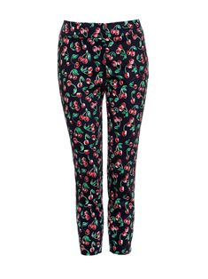 Make every day delightful with the Cherry Delight Capri Pants. This fun print will liven up your daily outfitting and keep you feeling fabulous. They're crafted from stretch cotton and feature a mid rise, slim fit throughout and a curved split hem. Cherry Delight, Fun Prints, Capri Pants, Pajama Pants, Journey, Slim, Collections, Sewing, My Style