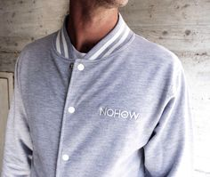 #Greycollege jacket is the thing that you need. love that details. Handcrafted in #italy Get it on our webstore WWW.NOHOWSTYLE.COM