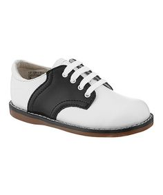 Loving this White & Black Cheer Oxford on #zulily! #zulilyfinds