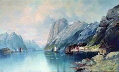 Fjord in Norway - Lev Lagorio
