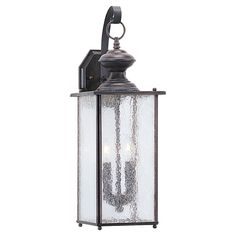 View the Sea Gull Lighting 8883 Jamestowne 2 Light Outdoor Lantern Wall Sconce at LightingDirect.com.
