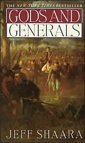 Gods and Generals by Jeff Shaara -- Probably one of the best books you will ever read on the Civil War.  If you like it, then continue on with Killer Angels--see it on my board.