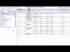 Google Refine 2.0 - Introduction (1 of 3) (video version 2)