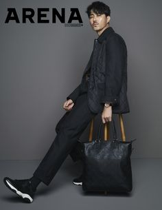"""Cha Seung Won showed off his long legs and handsome, stylish charisma for the October issue of Arena Homme and we realized we haven't seen him since his 2015 MBC drama series """"Hwajung… Asian Celebrities, Asian Actors, Korean Actors, Cha Seung Won, Mbc Drama, Hot Asian Men, Into The Fire, Park Hyung Sik, Korean Entertainment"""