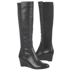 Women's Naturalizer Quinlee Black Leather/Fabric Naturalizer.com