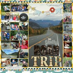 HM Gallery - Road Trip Scrapbooking Layout - See more at: http://www.heritagemakers.com/gallery/#/t/107918