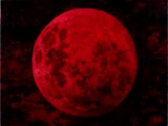 Blood Red Moon   REINVENTING A COLOUR WHEEL