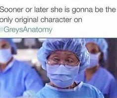 Greys Anatomy hahaha so true Greys Anatomy Funny, Greys Anatomy Cast, Grey Anatomy Quotes, Greys Anatomy George, Anatomy Humor, Derek Shepherd, Meredith Grey, Best Tv Shows, Best Shows Ever