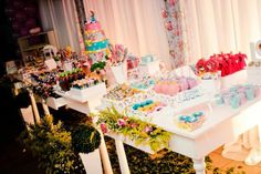 Party table #Alice #Wonderland