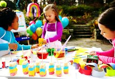 Rainbow Wishes Party inspiration.