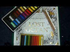 Colouring Book Tutorial:Applying pastel OVER pencils. - YouTube. Använder Blender. Supersmart o jättesnyggt!