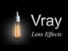 Vray Lens Effects Tutorial Español Sketchup Rendering, Photoshop Rendering, Autocad, Rhino Render, 3d Max Tutorial, Vray For C4d, Vray Tutorials, Studio Lighting Setups, 3d Max Vray