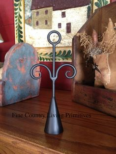 Primitives ~ Colonial ~ Rams Head Snuffer