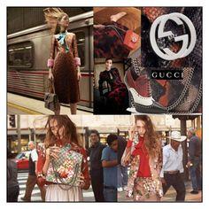 GUCCI Fall/Winter '15 Ad-Campaign by andreajanke on Polyvore #Gucci #Fashion