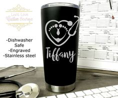 I Cant Im in Nursing School Personalized Engraved Insulated Stainless Steel 20 oz Tumbler
