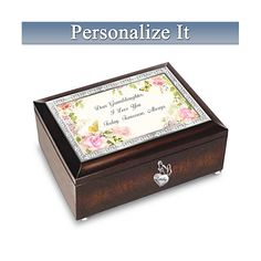 Shop The Bradford Exchange for A Great-Granddaughter Is God's Greatest Blessing Music Box. There's no greater blessing than the gift of a precious great-granddaughter. Now, a music box graced with garden artwork and loving words lets you tell your. Free Poems, Bradford Exchange, Types Of Music, Love You, My Love, You Are My Sunshine, A Blessing, Custom Engraving, To My Daughter