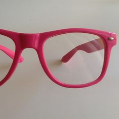 Pink  Hipster Glasses I am going to get these as my new reading glasses!!!!!!!